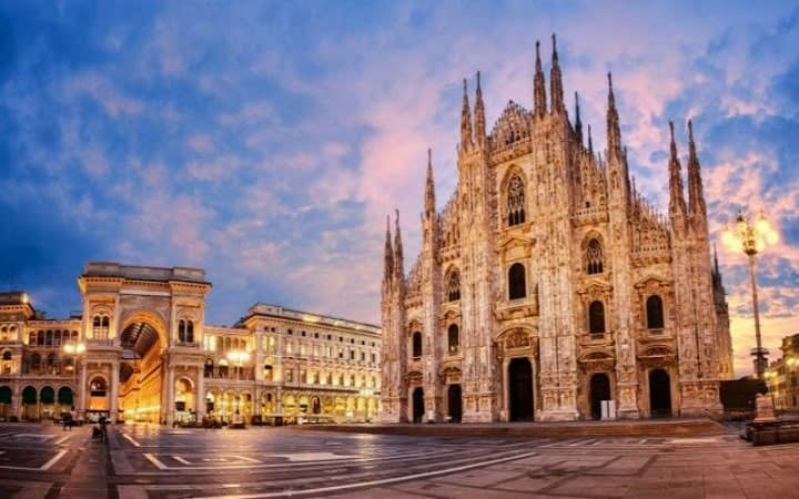 Mailand Überraschungsziel Wish&Fly. Überraschungsreise.