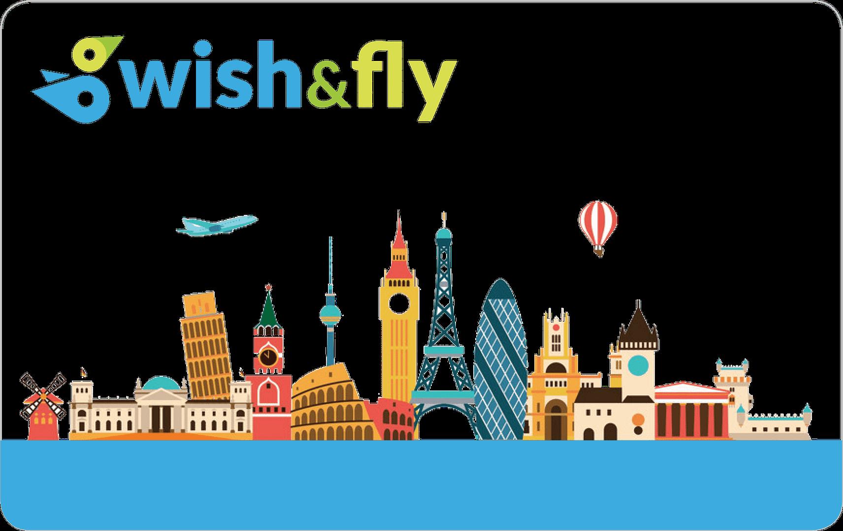tarjeta regalo wishandfly viaje sorpresa